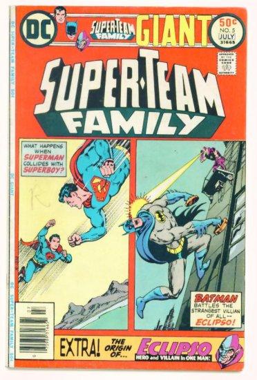 SUPER-TEAM FAMILY #5 DC Comics 1976 Batman vs Eclipso