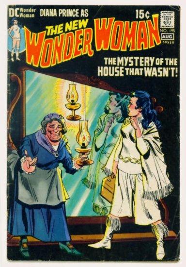 WONDER WOMAN #195 DC Comics 1971 Diana Prince