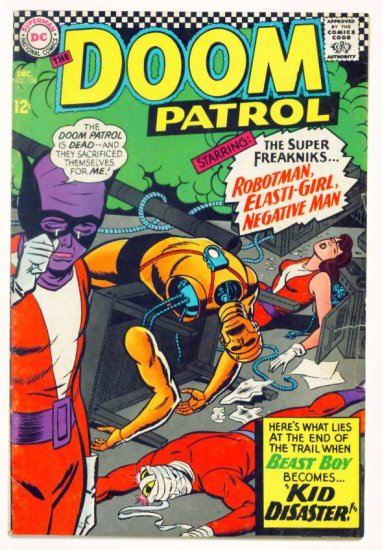 DOOM PATROL #108 DC Comics 1966