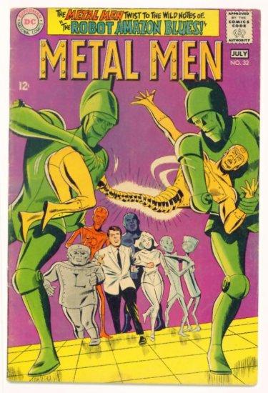 METAL MEN #32 DC Comics 1968