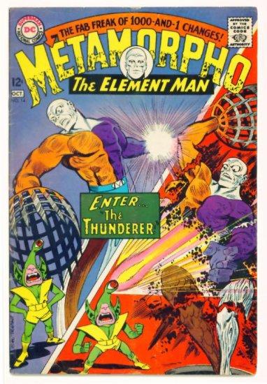 METAMORPHO #14 DC Comics 1967