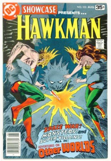 HAWKMAN Showcase #103 DC Comics 1978