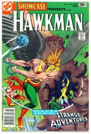 HAWKMAN Showcase #102 DC Comics 1978