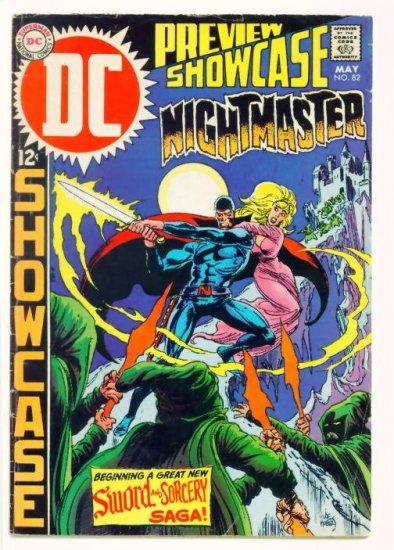 NIGHTMASTER Showcase #82 DC Comics 1969 1st appearance