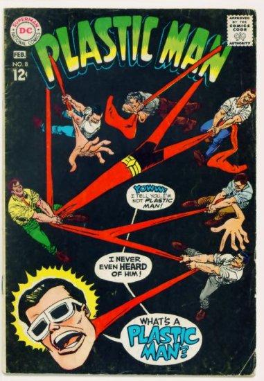 PLASTIC MAN #8 DC Comics 1968
