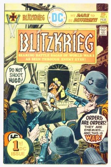 BLITZKRIEG #1 DC War Comic 1976
