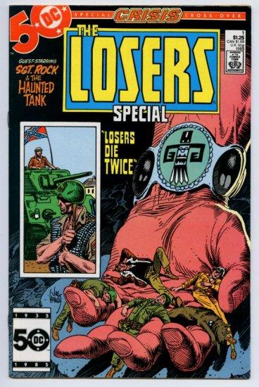 LOSERS SPECIAL #1 DC Comics DC COMICS 1985 Sgt Rock Haunted Tank