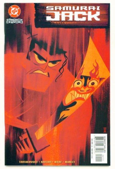 SAMURAI JACK SPECIAL #1 DC Comics 2002 TARTAKOVSKY