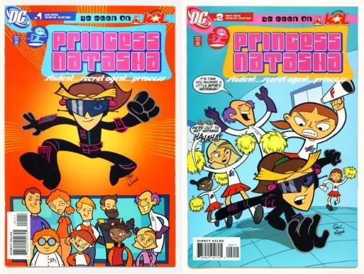 PRINCESS NATASHA #1 and #2 DC Comics 2006 AKOL