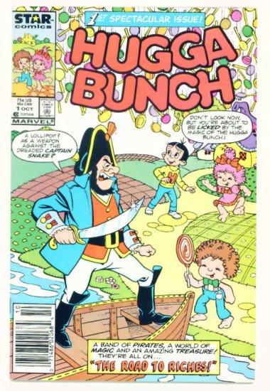 HUGGA BUNCH #1 Marvel Comics 1986