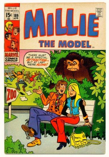MILLIE THE MODEL #189 MARVEL COMICS 1971