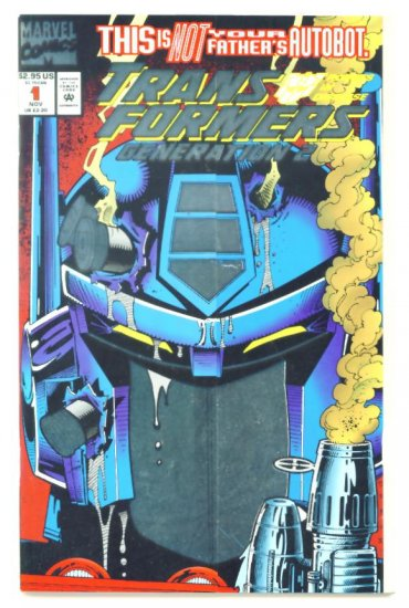 TRANSFORMERS #1 Generation 2 Marvel Comics 1993