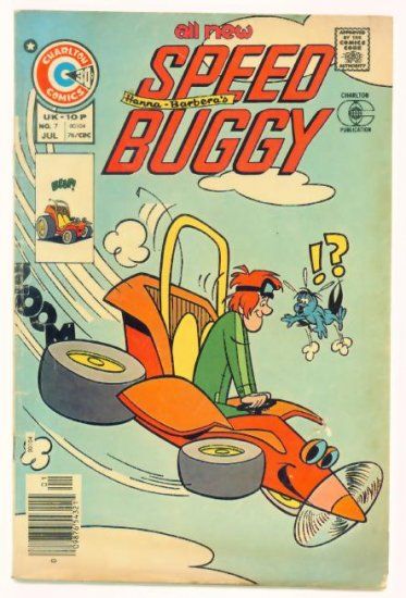 SPEED BUGGY #7 Charlton Comics 1976 Hanna-Barbera