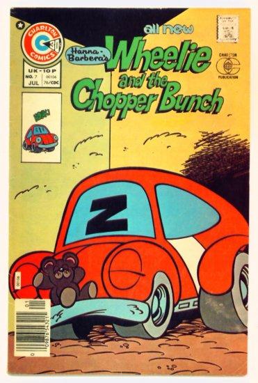 WHEELIE and the CHOPPER BUNCH #7 Charlton Comics 1976 Hanna-Barbera