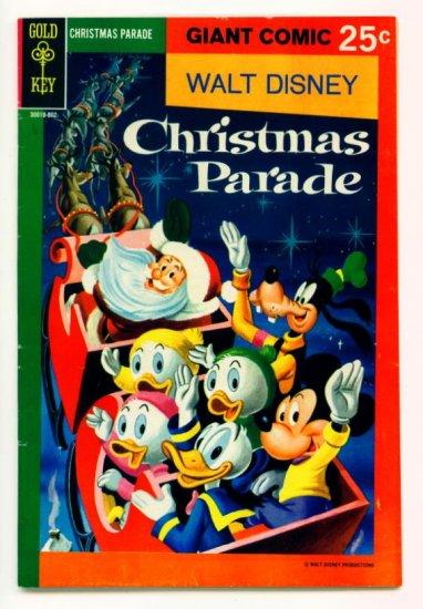 WALT DISNEY CHRISTMAS PARADE #6 Gold Key Comics 1967
