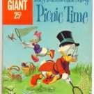 UNCLE SCROOGE PICNIC TIME Dell Comics 1960 Giant #33
