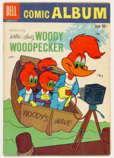 Woody Woodpecker Camera Cover DELL COMIC ALBUM #9 Dell Comics 1960