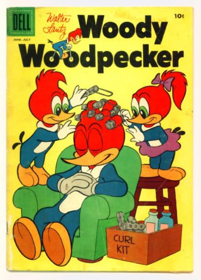 WOODY WOODPECKER #37 Dell Comics 1956 Walter Lantz