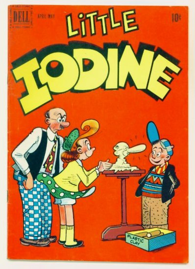 LITTLE IODINE #5 Dell Comics 1951