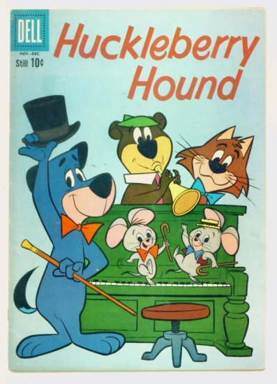 HUCKLEBERRY HOUND #8 Dell Comics 1960 Hanna-Barbera