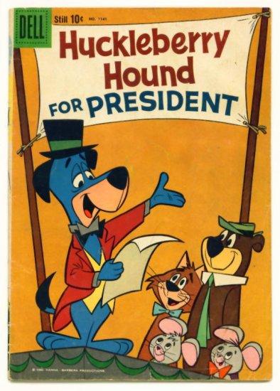 HUCKLEBERRY HOUND Dell Comics 1960 Four Color #1141 Hanna-Barbera