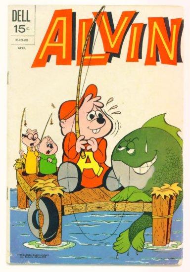 ALVIN #24 Dell Comics 1972 and the Chipmunks