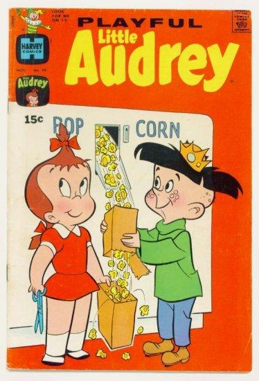 PLAYFUL LITTLE AUDREY #99 Harvey Comics 1971