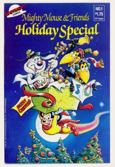 MIGHTY MOUSE and FRIENDS SPECIAL #1 Spotlight Comics Deputy Dawg