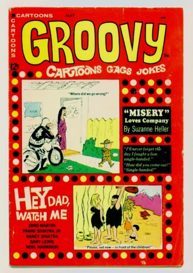 GROOVY COMICS #2 Marvel Atlas Comics 1968