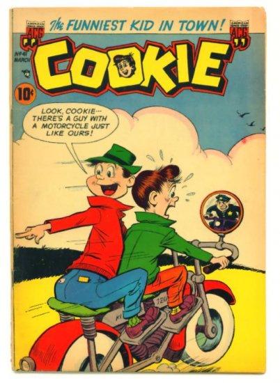 COOKIE #41 ACG Comics 1953 Dime Comic