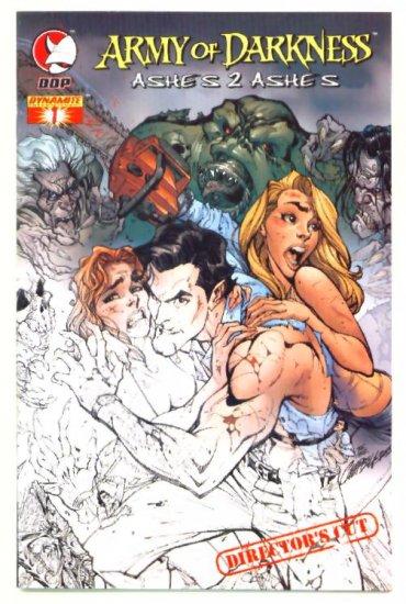 ARMY of DARKNESS ASHES Directors Cut #1 DD Comics 2004