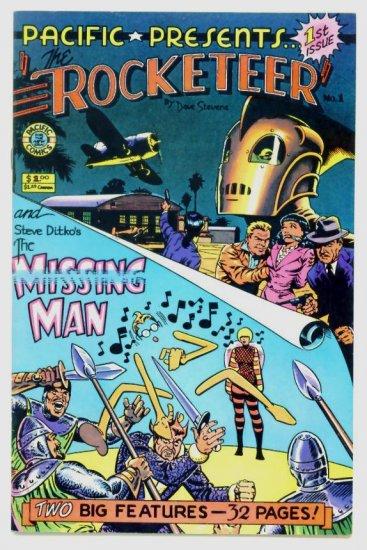 ROCKETEER Pacific Comics Presents #1 1982 Dave Stevens