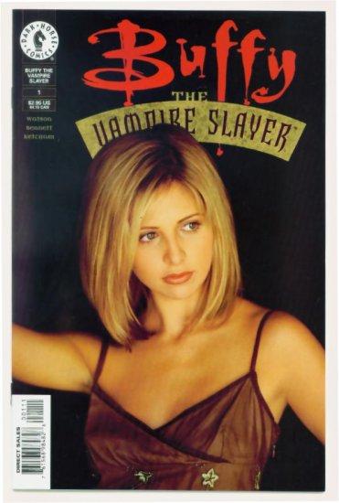 BUFFY The Vampire Slayer #1 Dark Horse Comics 1998 PHOTO COVER