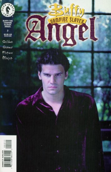 ANGEL #2 Dark Horse Comics 1999 Buffy Vampire Slayer PHOTO COVER