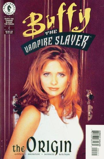 BUFFY The Vampire Slayer #2 ORIGIN Dark Horse Comics 1999 PHOTO COVER