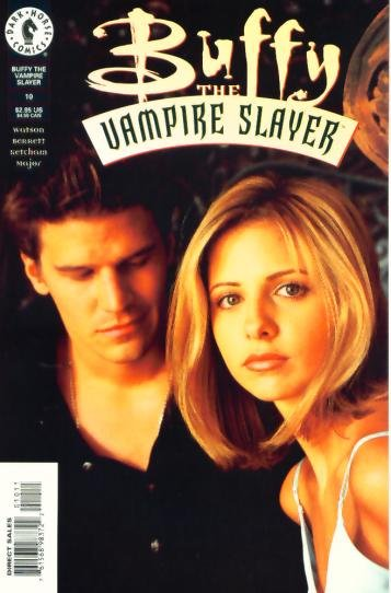 BUFFY The Vampire Slayer #10 Dark Horse Comics 1999 PHOTO COVER