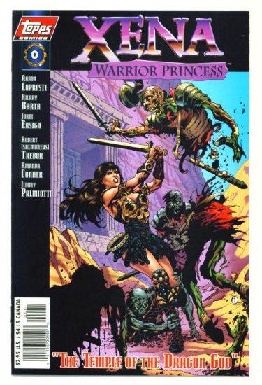 XENA WARRIOR PRINCESS #0 Topps Comics 1997