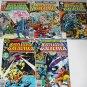 BATTLESTAR GALACTICA Lot of 5 Marvel Comics 1979 #1 - #9