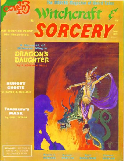 WITCHCRAFT AND SORCERY #6 Fantasy Publishing 1971
