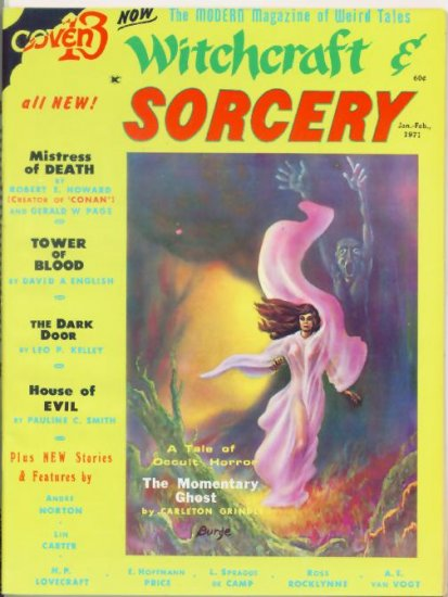 WITCHCRAFT AND SORCERY #5 Fantasy Publishing 1971