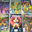 THUNDERCATS Lot of 6 Wildstorm Comics #1 - 5 plus Sourcebook