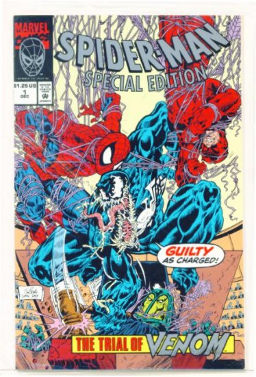 SPIDER-MAN SPECIAL EDITION #1 Marvel Comics 1992 Sealed NM