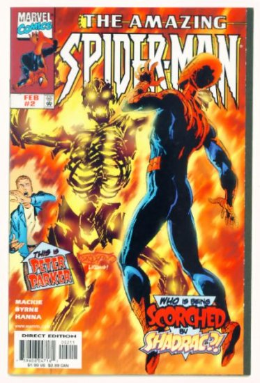 AMAZING SPIDER-MAN #2 Marvel Comics 1999 NM