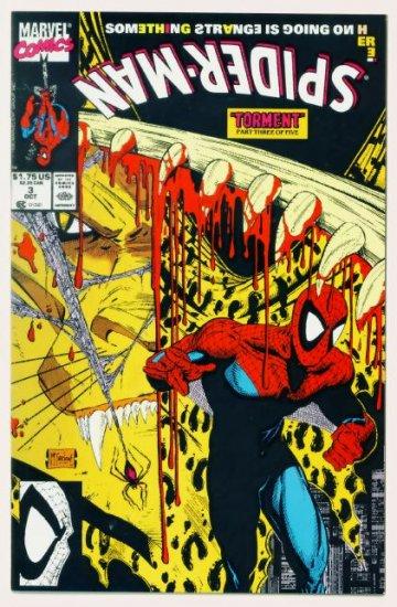 SPIDER-MAN #3 Marvel Comics 1990 NM McFarlane