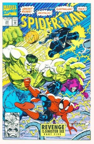 SPIDER-MAN #22 Marvel Comics 1992 NM Hobgoblin