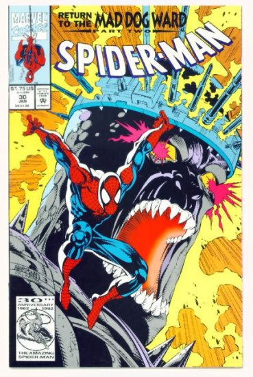 SPIDER-MAN #30 Marvel Comics 1993 NM