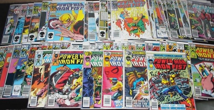 POWER MAN and IRON FIST Lot of 62 Marvel Comics 1978-86