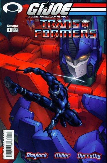 GI JOE VS TRANSFORMERS #1 Image Comics 2003 #1A