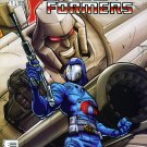 GI JOE VS TRANSFORMERS #1 Image Comics 2003 #1B