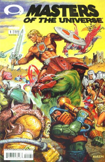 He-Man MASTERS of the UNIVERSE #1 Image Comics 2002 #1C MOTU